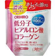 オリヒロ低分子ヒアルロン酸コラーゲン袋タイプ<180g>