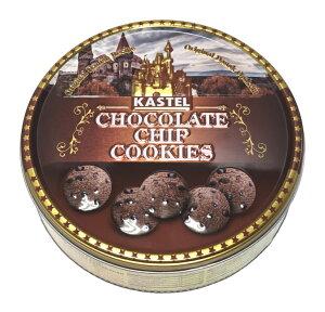 チョコチップクッキー 缶 (340g) カステル クッキー缶 大容量クッキー