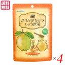 【ポイント6倍】最大34.5倍!生姜湯 しょうが湯 生姜茶 かりんはちみつしょうが湯 (12g×5) 4袋セット マルシマ 送料無料