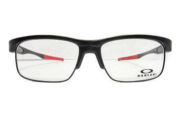 OAKLEY(オークリー) メガネ メガネ CROSSLINK FLOAT EX (クロスリンクフロート EX) OX3220-0456 col.SATIN BLACK-RED 【交換用レンズキャリア・交換用ステム(テンプル)付き】 オークリー メンズ レディース ビジネス プレゼント 記念日 贈り物に。