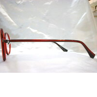 セルとメタルコンビ丸メガネ大きめ丸メガネ一山フレーム大正浪漫眼鏡TR・702