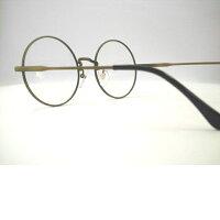 日本製メタル眼鏡・大きい丸メガネ大きめ・T265