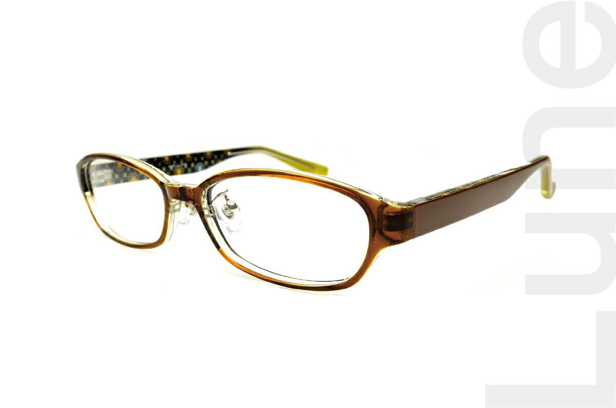 度付きメガネ オーバル 伊達メガネ ブルーライトカット 軽量セルフレーム 家メガネ TR90 TR6919カラー6-1 布ケース