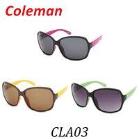 【送料無料】Coleman(コールマン)CLA03-1CLA03-2CLA03-3レディース偏光レンズ採用サングラス