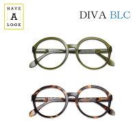 【送料無料】HAVEALOOKDIVAハブアルックディーバBLCブルーライトカットシニアグラス/リーディンググラス老眼鏡HAL名眼