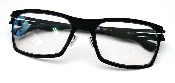 眼鏡・サングラス, 眼鏡 ic!berlin Urban 2.0 BLACK