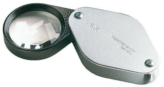 エッシェンバッハ精密繰り出しルーペ5.0倍(30φmm)バイコンベックスE11775