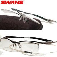 SWANS跳ね上げ式フレームSWF-DP2-DLとPOLATECレンズのセット