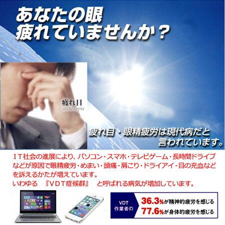 【お試し価格】眼精疲労予防レンズビュイセットYT594【楽ギフ_包装】