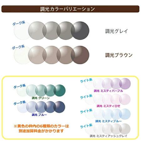 光に当たると色が変わる!【国産】オールチタンB&C748サンテック調光サングラスセット
