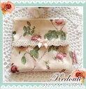ルドゥーテ レ・ローズ ティッシュポーチ 日本製 バラ柄 ポケットティッシュケース おしゃれ かわいい