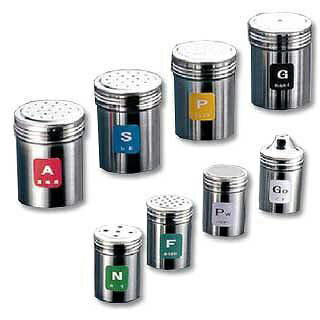 【まとめ買い10個セット品】『 調味料入れ 容器 調味缶 ステンレス 』TKG18-8ステンレス 調味缶 大 P[こしょう]