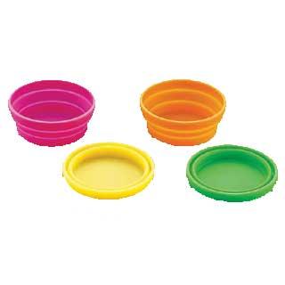 『 ケーキ型 焼き型 丸型 』シリコン シリコーンアイスカップ 4色セット