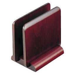 【まとめ買い10個セット品】 木製 メニュースタンド 15240 (ブラウン)【 メニュースタンド 】