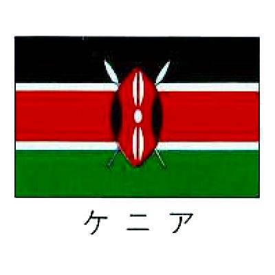 旗 世界の国旗 ケニア 140×210 【 キャンセル/返品不可 】 【 業務用 :厨房卸問屋 名調