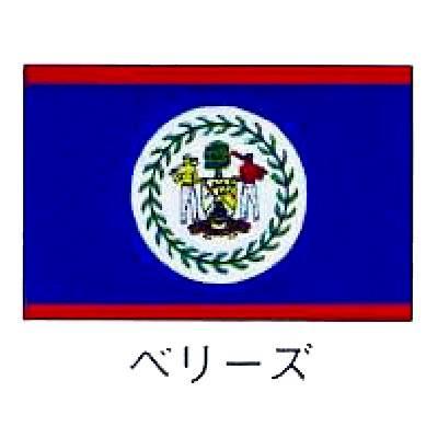 旗 世界の国旗 ベリーズ 120×180 【 キャンセル/返品不可 】 【 業務用 :厨房卸問屋 名調