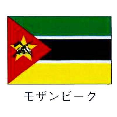 旗 世界の国旗 モザンビーク 120×180 【 キャンセル/返品不可 】 【 業務用 :厨房卸問屋 名調