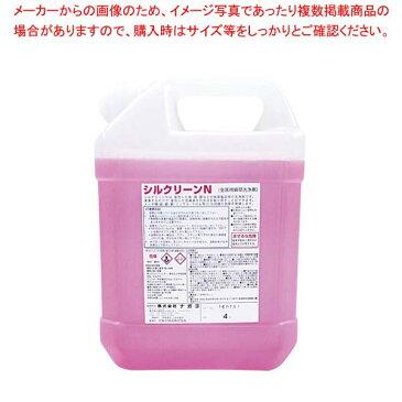 【まとめ買い10個セット品】 液体 金属磨き シルクリーンN 4L【 清掃・衛生用品 】