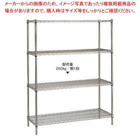 18-8ステンレスエレクターシェルフ5段PS2200×SSS910sale【メーカー直送/決済】