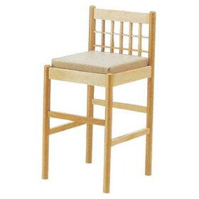 椅子白木9-137-3