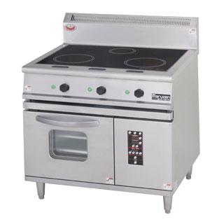 業務用 マルゼン IHレンジ MIR-097X 【 厨房機器 】 【 メーカー直送/後払い決済不可 】