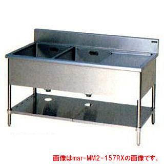 業務用厨房用品, 業務用シンク  BG W1500D600H800MM2-156LNX 2 2 2