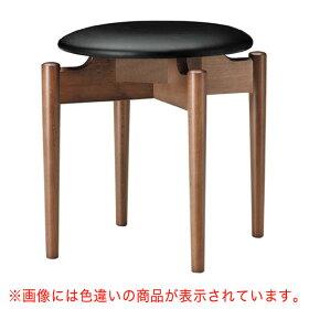 光琳D椅子赤レザー張地:オールマイティー6467シンコール