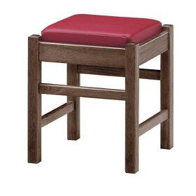 弥山D椅子赤レザー張地:オールマイティー6469シンコール