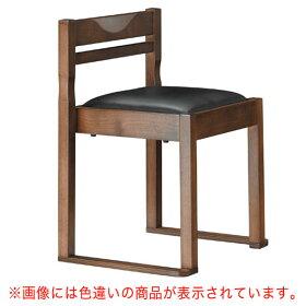 有田D椅子赤レザー張地:クレンズII6327シンコール