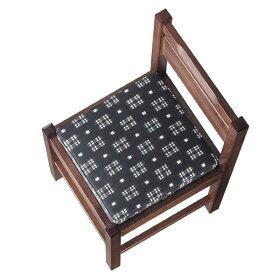 阿山B椅子カスリレザー張地:カスリ