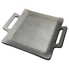 【こだわりの極厚】【肉料理 ホルモン焼きに最適】【ステーキ皿にも】こだわりの極厚鉄板 [9mm...