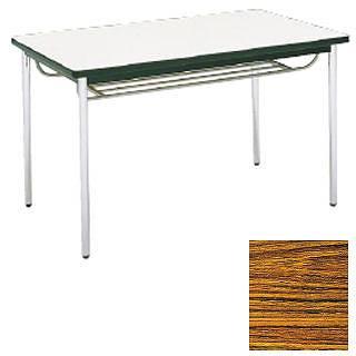 テーブル(棚付)MT2716(A)チーク