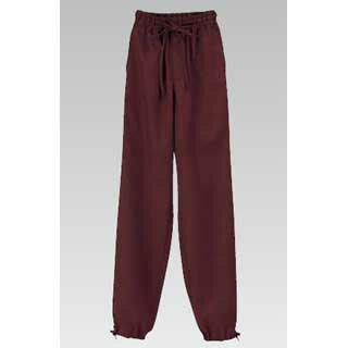 男女兼用 作務衣パンツ(焦茶) JB-20223L メイチョー