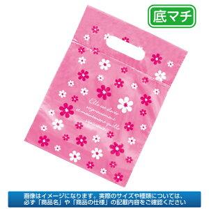 ピンク フラワー ポリバッグ 38×48cm 100枚 sale