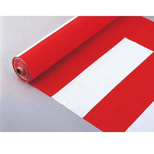 紅白幕 反物 90cm幅【店舗什器  小物 ディスプレー POP ポスター 消耗品 店舗備品】:開業プロ メイチョー