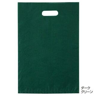 ポリ袋ハード型カラーダークグリーン30×451000枚【店舗什器小物ディスプレーギフトラッピング包装紙袋消耗品店舗備品】