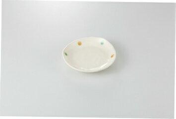和食器 ドット 三角4.0皿 35K193-21 まごころ第35集 【キャンセル/返品不可】【開業プロ】