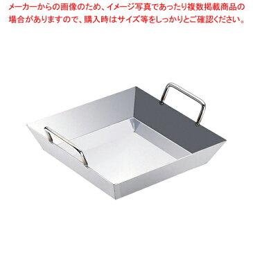 18-0チリトリ鍋 深型 30cm 【メイチョー】