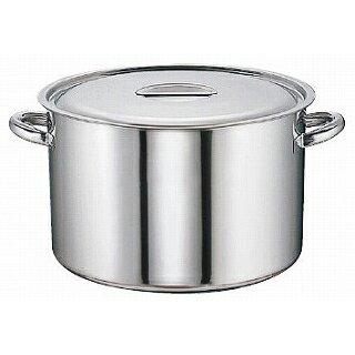 SAモリブデン半寸胴鍋[目盛付]45cm【業務用】【送料無料】