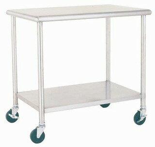 【 業務用 】ワークテーブルワゴン EN33-B 【 メーカー直送/代金引換決済不可 】:業務用厨房機器の飲食店厨房館