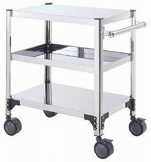 【 業務用 】両面棚ワゴンキャスター付 F9X-A:業務用厨房機器の飲食店厨房館
