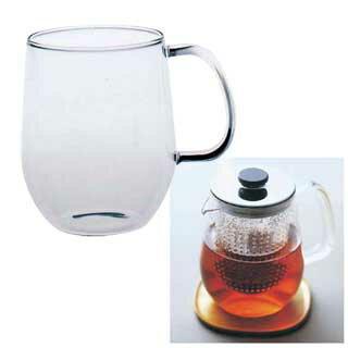 【 業務用 】ユニティー+耐熱ガラスカップ L 8292 【 ティーポット紅茶ポット 】