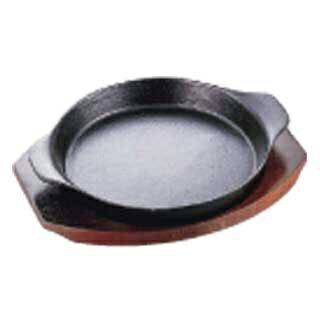【まとめ買い10個セット品】【業務用】イシガキステーキ皿深型丸06-1515cm
