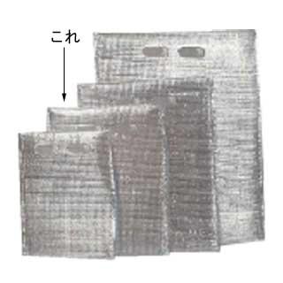 【まとめ買い10個セット品】【 業務用 】保冷・保温袋 アルバック平袋[持ち手付][50枚入] Mサイズ