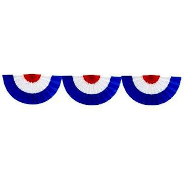 【 業務用 】オープン幕 三連オープン幕 カラー:赤白青 生地:ブロード 90cm×180cm