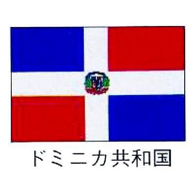 【 業務用 】旗 世界の国旗 ドミニカ共和国 140×210:業務用厨房機器の飲食店厨房館