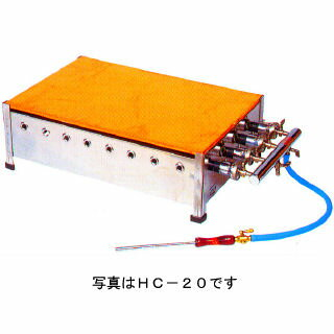 業務用ガス式ホットケーキ焼き器 銅板タイプ 【 メーカー直送/後払い決済不可 】 【厨房館】