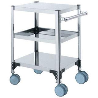 【 業務用 】両面棚ワゴン キャスター付 F7X-A:業務用厨房機器の飲食店厨房館
