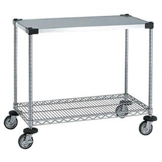 【 業務用 】ワーキングカート1型 NWT1B‐S:業務用厨房機器の飲食店厨房館