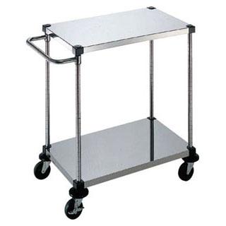【 業務用 】サイドハンドル付2段 S-4-2-B-9-L:業務用厨房機器の飲食店厨房館